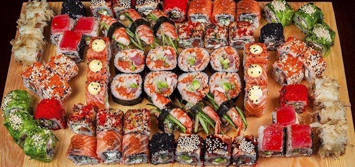Феерия вкуса!50% скидки на ВСЕ меню кухни в ресторанах «13 стульев», «Villa Italia», «Bayern Hof» + ВСЕ Суши Меню!