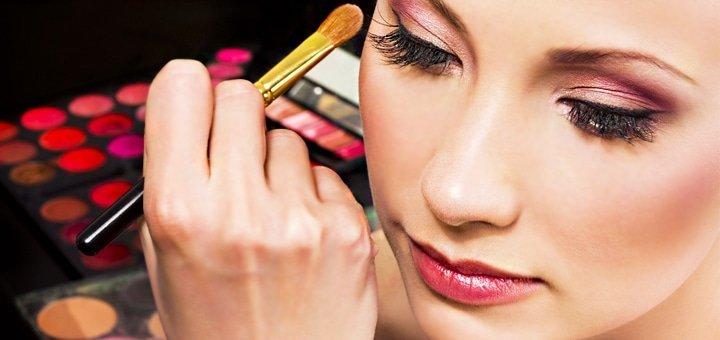 Магия красоты в Новогоднюю ночь! Вечерний макияж, моделирование и покраска  бровей, укладка или праздничная прическа!