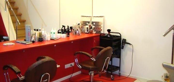 Стрижка горячими ножницами, мелирование, брондирование, укладка волос в салоне красоты «Fen-x»