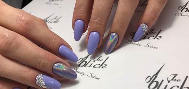 Скидка 30% на комбинированный маникюр с покрытием гель-лаком в салоне «The Blick Beauty Salon»