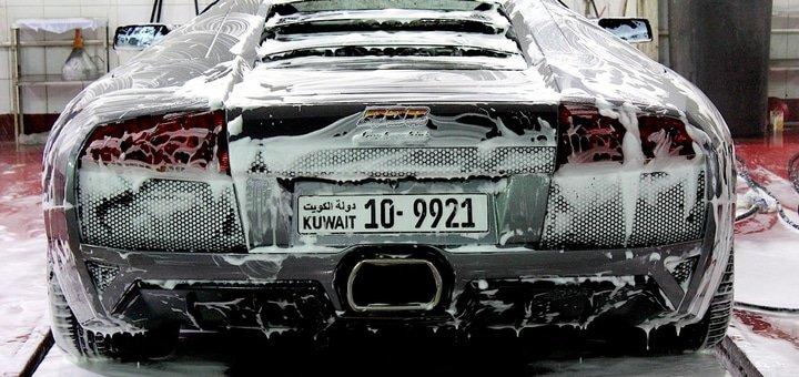 Скидка 30% на комплексную мойку любимого авто + покрытие твердым воском в «Автомойке на Октябре»