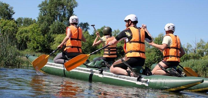 Двухдневный рафтинг-тур «Каньон Буки + Рафтинг по Южному Бугу» для одного вместе с турагентством «ActiveTravel»