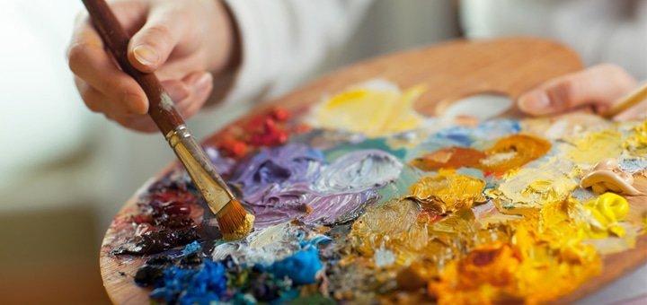 Мастер-класс по живописи маслом для людей любого возраста и уровня подготовки в студии «Love-Art»