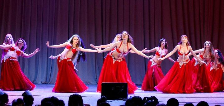 Скидка 30% на занятия восточными танцами для взрослых от студии танца «Альфа денс»