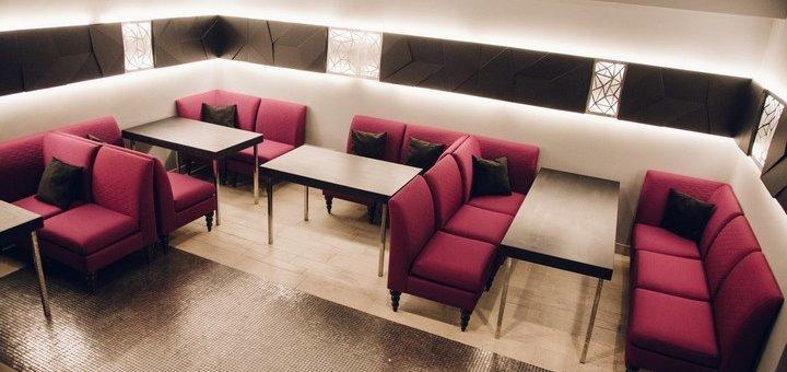 Скидка 30% на все меню кухни, бара и кальян в ресторане «Embery Lounge»