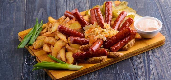 Скидка 35% на меню кухни и бара в пабе «Мойдодыр НА»