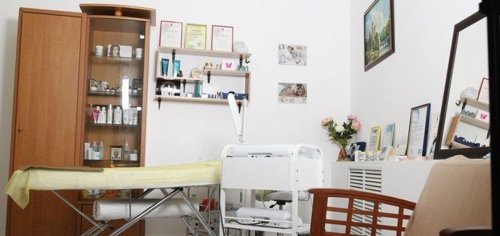 УЗ чистка лица с криотерапией и массажем лица по Жаке в студии красоты и здоровья «Liebchen»