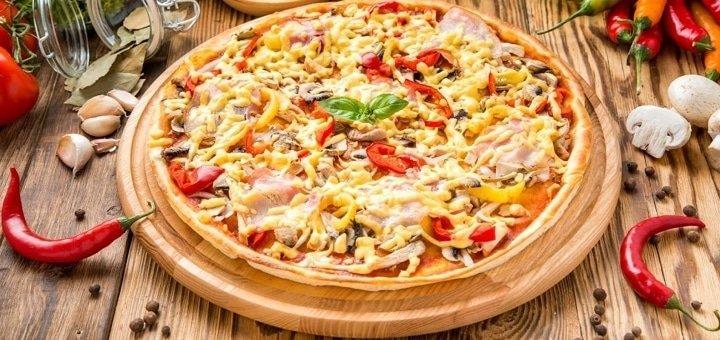 Скидка 50% на все меню, кофе и чай в «Pizza-bar» на Бессарабке