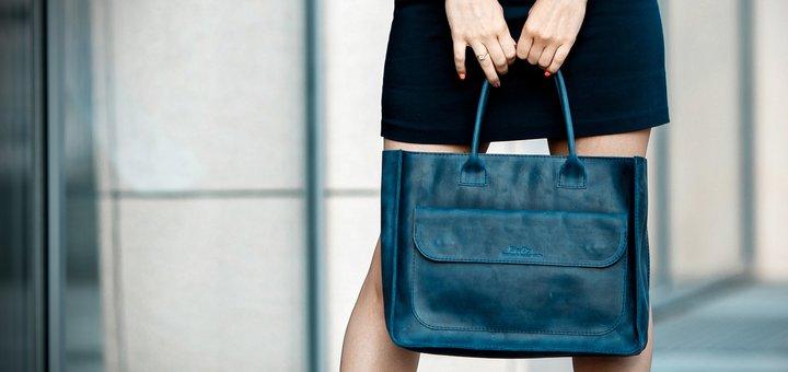 Скидка 10% на кожаные рюкзаки, сумки, кошельки handmade-мастерской