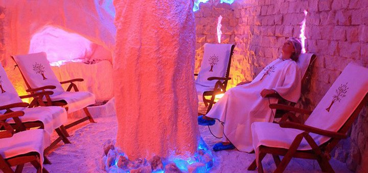 До 3 посещений соляной пещеры в «Центр здоровой жизни»
