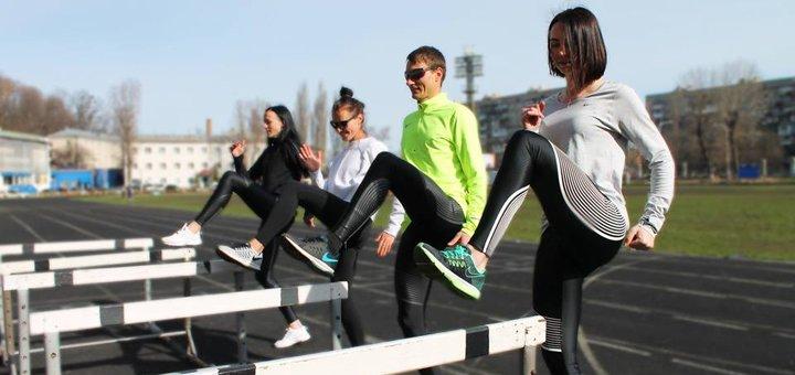 Месячный абонемент на тренировки в беговом клубе «Track and Speed Club»