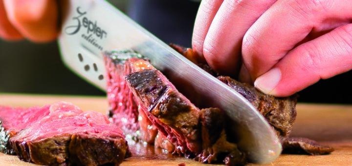 Скидка 5% на нож «Сантоку» с отверстиями