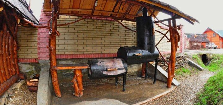 От 3 дней отдыха с питанием и баней в комплексе отдыха «Скита» в Ворохте возле Буковеля