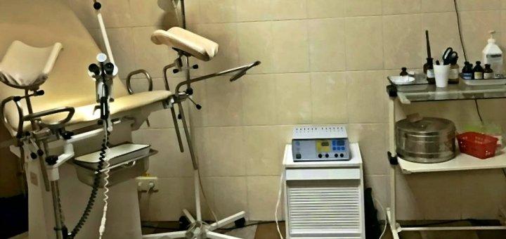 Обследование у гинеколога в амбулатории «Шанс»