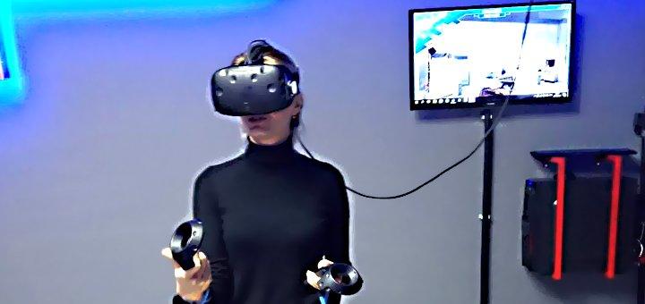 Скидка 50% на 1 час игры в клубе виртуальной реальности «MirVR»