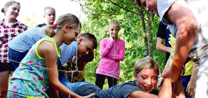Весенние каникулы с пятиразовым питанием и английским в детском лагере «Questy Camp» под Киевом