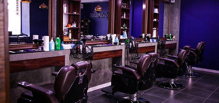 Мужская стрижка, коррекция или бритье бороды от барбершопа «TONY MONTANA»