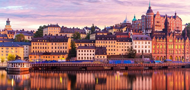 Уикенд в Стокгольм за 2790 грн на 5 дней