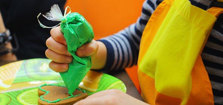 Скидка 40% на детский мастер-класс по росписи пряников в кафе-кондитерской «Зефир»