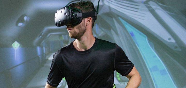 Скидка 50% на игры в баре виртуальной реальности «The Future»