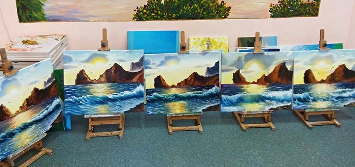 До 12 занятий базового курса рисунка и живописи для взрослых от художественной школы «7 Чудес»