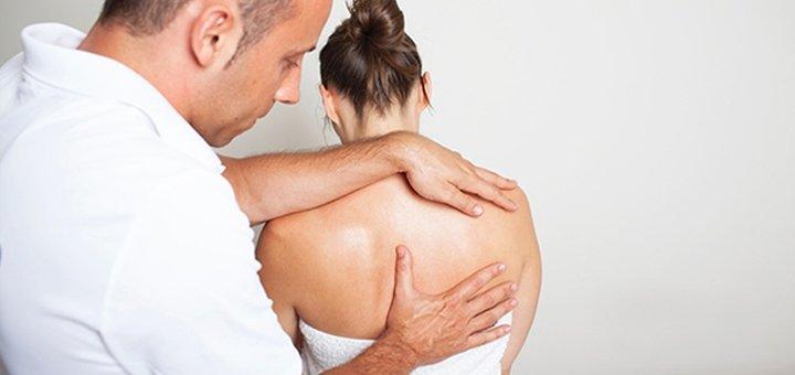 До 3 сеансов комплексного лечения спины с массажем в клинике «Довира»