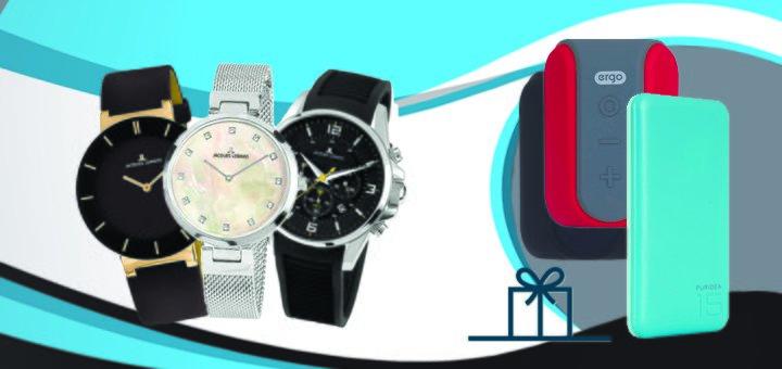 Купуй годинник Jacques Lemans - отримай подарунок!