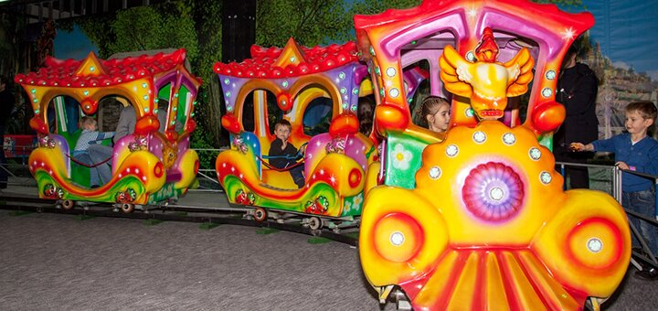 Целый день развлечений для детей в парке «7 чудес» в ТРЦ «Мармелад»