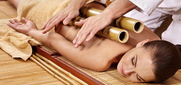 До 10 сеансов креольского массажа бамбуковыми палочками от «AntiSalon SPA»