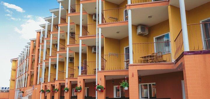 От 3 дней отдыха для двоих в гостиничном комплексе «Парус» в Затоке