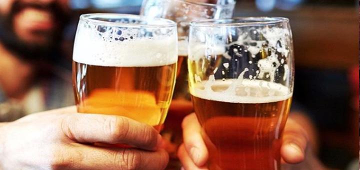 Скидка 50% на разливное пиво от крафтового магазина «Орёл»
