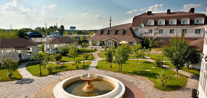 2 дня SPA-отдыха с завтраками и бассейном в комплексе «Бабушкин Сад» под Киевом