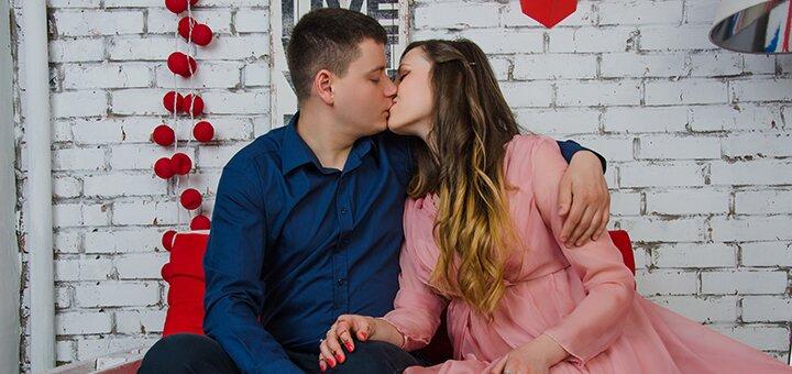 Выездная или студийная фотосессия для влюбленных «Love story» от фотографа Светланы Цупиковой