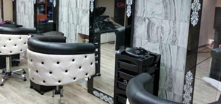 Кератиновое восстановление, выпрямление волос и стрижка кончиков в студии красоты Тины Хиврич