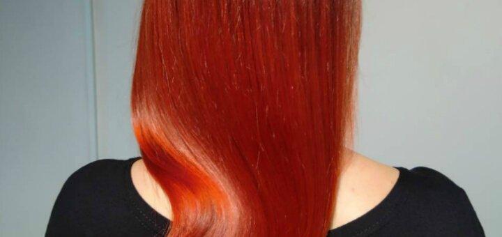 Скидка до 76% на стрижку, окрашивание и укладку волос в салоне красоты «Ressyv studio»