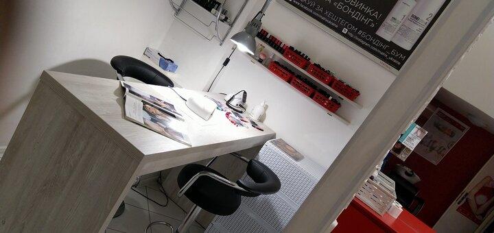 Накрутка волос утюжком для 2 длины в салоне «Fen-x»