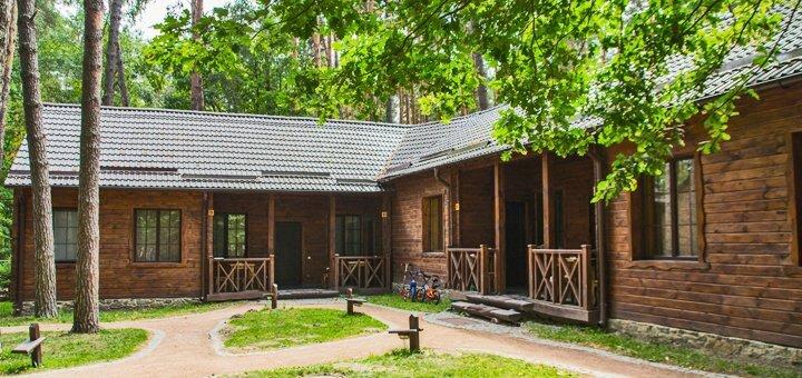 От 1 дня отдыха для двоих или компании в загородном комплексе «Чудодієво» в Житомирской области