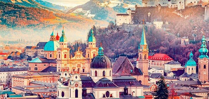 Скидка 10% на тур в Зальцбург и Вену от туристического агентства «Pride Travel»