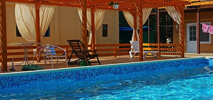 От 4 дней отдыха с посещением бассейна на базе «Кардинал» в Затоке