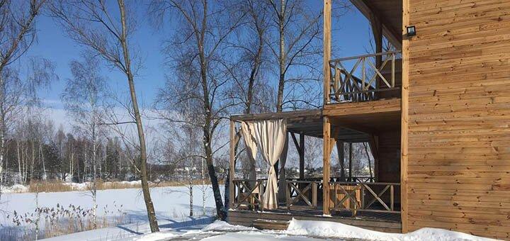 От 2 дней отдыха в будние дни в коттеджах комплекса «Relax Villa Poduszka» под Киевом