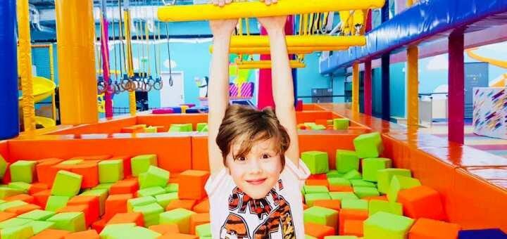 Входной билет в детский парк развлечений «Детская планета Cosmopolite Multimall» в любой день
