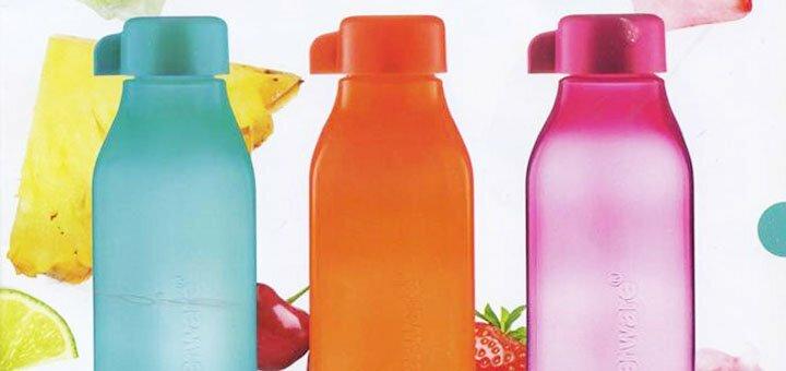 Скидка 38% на набор эко-бутылок (1,5 л) с клапаном и винтовой крышкой