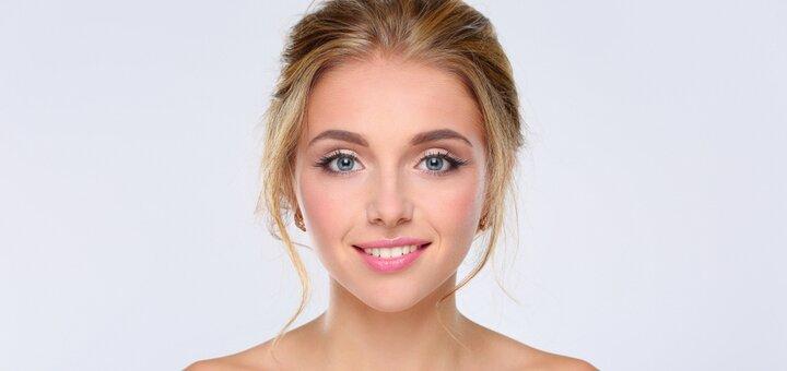14-этапная комбинированная чистка лица с массажем от косметолога Алины Поддубной