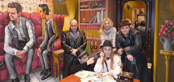 Посещение квест-комнаты «Бандитская Одесса» в будние и выходные дни от компании «Сходка»