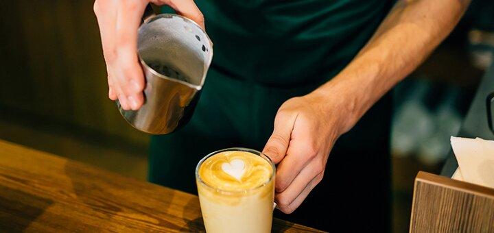 Скидка 50% на кофе и холодный кофе в сети кофеен «Coffee Life»