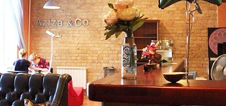 Маникюр, педикюр и покрытие гель-лаком в студии красоты «Aziza&Co»