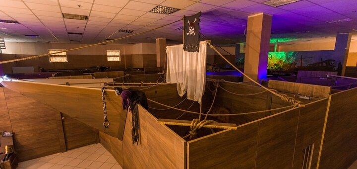 Участие в четырехчасовой квест-игре «Корабль-призрак» для двоих