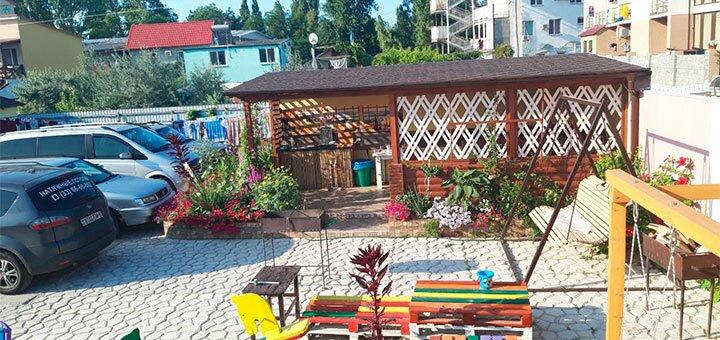 От 3 дней осеннего отдыха в отеле «Дача Солнце» в Затоке