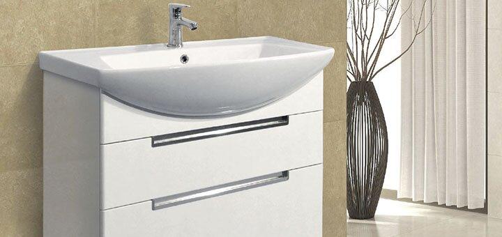 Скидка 40% на мебель для ванной от «Мойдодыр»