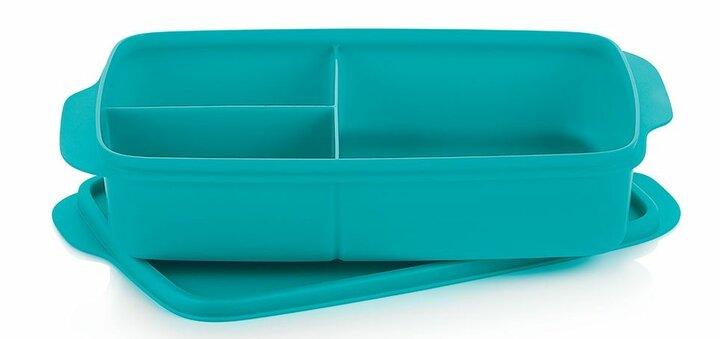Скидка 39% на контейнер «Здоровый перекус» (1 л), 2 штуки от «Tupperware»